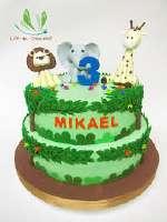 Torta Safari   Torta Safari para niños - Cod:SAF02