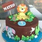 Torta Safari   Torta Leon de la selva - Cod:SAF09