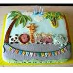 Torta Safari   Torta de animales de la selva - Cod:SAF12