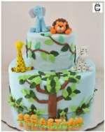 Torta de Leon   Torta Leon y Amigos - Cod:SAF15