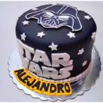 Torta Darth Vader | Tortas Stars Wars - Cod:STW02
