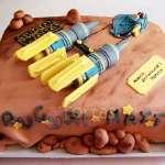 Torta Pod de Carrera | Tortas Stars Wars - Cod:STW21