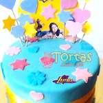 Torta Soy Luna con corazones | Tortas De Soy Luna - Cod:SYL11