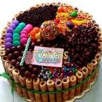 Torta de Golosinas | Torta De Golosinas | Candy Cake - Cod:TAA02