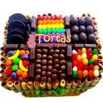 Torta Golosina | Torta De Golosinas | Candy Cake - Cod:TAA05