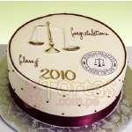 Torta de tematica de Abogado  | Tortas abogados - Cod:TAG07