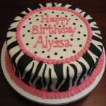 Diseño de Tortas | Torta con tema Animal Print - Cod:TAP03