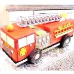 Torta para bombero | Torta bombero | Tortas de bomberos | Pastel de bombero - Cod:TMB02