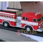 Torta bombero Gigante | Torta bombero | Tortas de bomberos | Pastel de bombero - Cod:TMB08