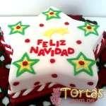 Torta de Navidad | Torta Estrella de Navidad - Cod:TNA03