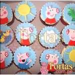Cupcakes con Tema Peppa Pig  | Tortas Pepa Pig - Cod:TPE06