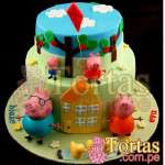 Tortas de Peppa | Torta Peppa Pig - Cod:TPE10