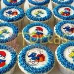 Cupcakes Pitufos | Torta Pitufos | Feliz cumpleaños | Tortas | Cumpleaños - Cod:TPU11