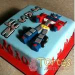 Torta de Tranformers | Pasteles Transformers | Tortas de transformers - Cod:TRF02
