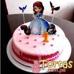 Torta de Princesa Sofia | Princesa Sofia Cakes - Cod:TSI02