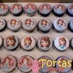 Cupcakes de Princesa Sofia | Princesa Sofia Cakes - Cod:TSI05