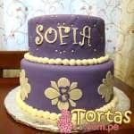 Torta del tema de Princesa Sofia  | Princesa Sofia Cakes - Cod:TSI08