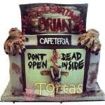 Pastel con tematica de The walking dead | Walking Dead Cake | Torta de The Walking Dead - Cod:TWL15