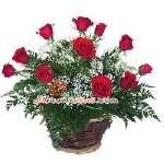 Arreglos de Flores | Arreglo de Rosas con 11 Rosas - Cod:VAT12