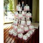 Tortas de Cupcakes | Mini tortas para Matrimonio | Tortas Baby Shower - Cod:WAM13
