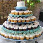 Torta Aniversario de Bodas | Mini tortas para Boda de plata - Cod:WAM73