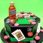 Torta Casino | Torta Casino con Whisky - Cod:WAS25