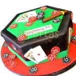 Torta Casino | Torta para Casino con habano - Cod:WAS26