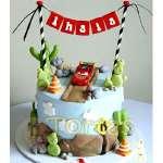 Torta Cars | Tortas con Autos | Tortas de Carros - Cod:WAU06