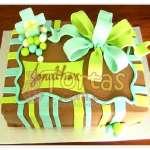 Tortas de Bautizo | Torta Bautizo/Comunion 17 - Cod:WBC17