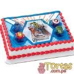 Torta Avengers con FotoImpresion | Delivery de de Tortas en Lima | Tortas a Peru - Cod:WBE09