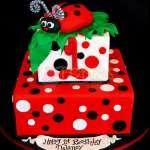 Tortas Delivery | Torta Mariquita para niña - Cod:WBE54