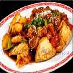 Pollo Chijaukay con Kam Lu Wantan | Chifa a Delivery | Chifa platos a la Carta - Cod:WCB06