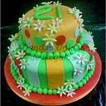 Tortas de Flores | Tortas Florales | Tortas de Flores | Pastel con Flores - Cod:WFL02
