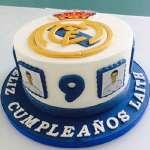 Torta Real Madrid con Pelota | Torta Futbol | Pastel futbol - Cod:WFU22