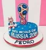 Torta Mundial Especial | Torta Futbol | Pastel futbol - Cod:WFU31