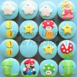 Cupcakes Mario Bros | Cupcakes Personalizados - Cod:WMF02