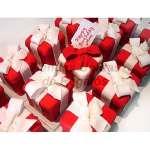 Tortas Individuales de regalitos rojo | Torta Individuales | Tortas Personales - Cod:WMT07