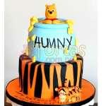 Torta Winnie Pooh jarro de miel | Tortas Infantiles para niños | Torta Winnie pooh - Cod:WPO13