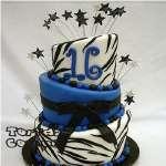 Tortas de 15 años Espectaculares | Torta para Quince años - Cod:WQC09