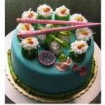 Torta Sushi | Torta Rolls - Cod:TRR47