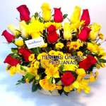 Arreglo de 20 rosas | Florerias en Lima - Cod:XBR45