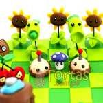 Torta del tema Zombies vs Plants | Plants vs Zombies cake | Tortas de Zombies | Tortas plantas - Cod:ZVP02