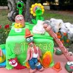 Torta Zombies vs Plants | Plants vs Zombies cake | Tortas de Zombies | Tortas plantas - Cod:ZVP03