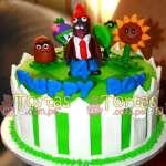 Zombies vs Plants 05 | Plants vs Zombies cake | Tortas de Zombies | Tortas plantas - Cod:ZVP05
